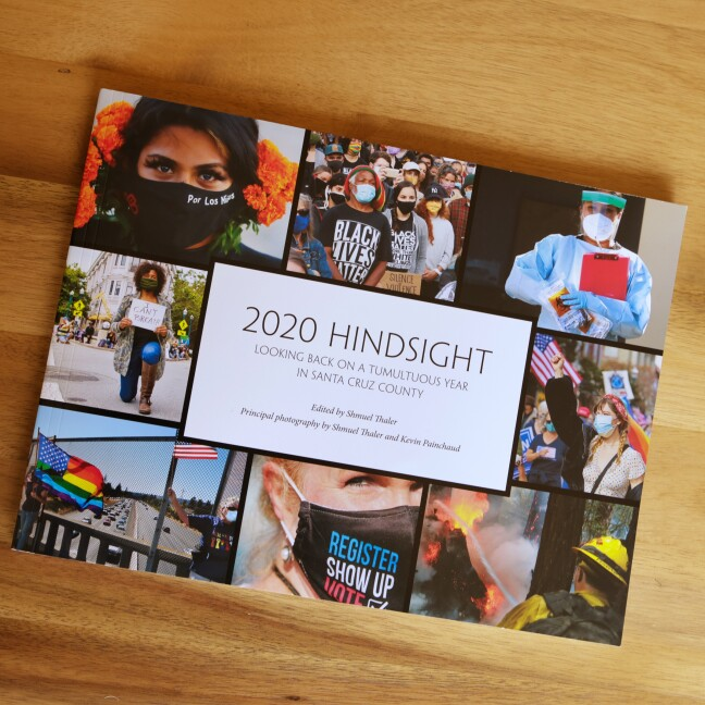 '2020 Hindsight' a photo and essay book edited by Shmuel Thaler