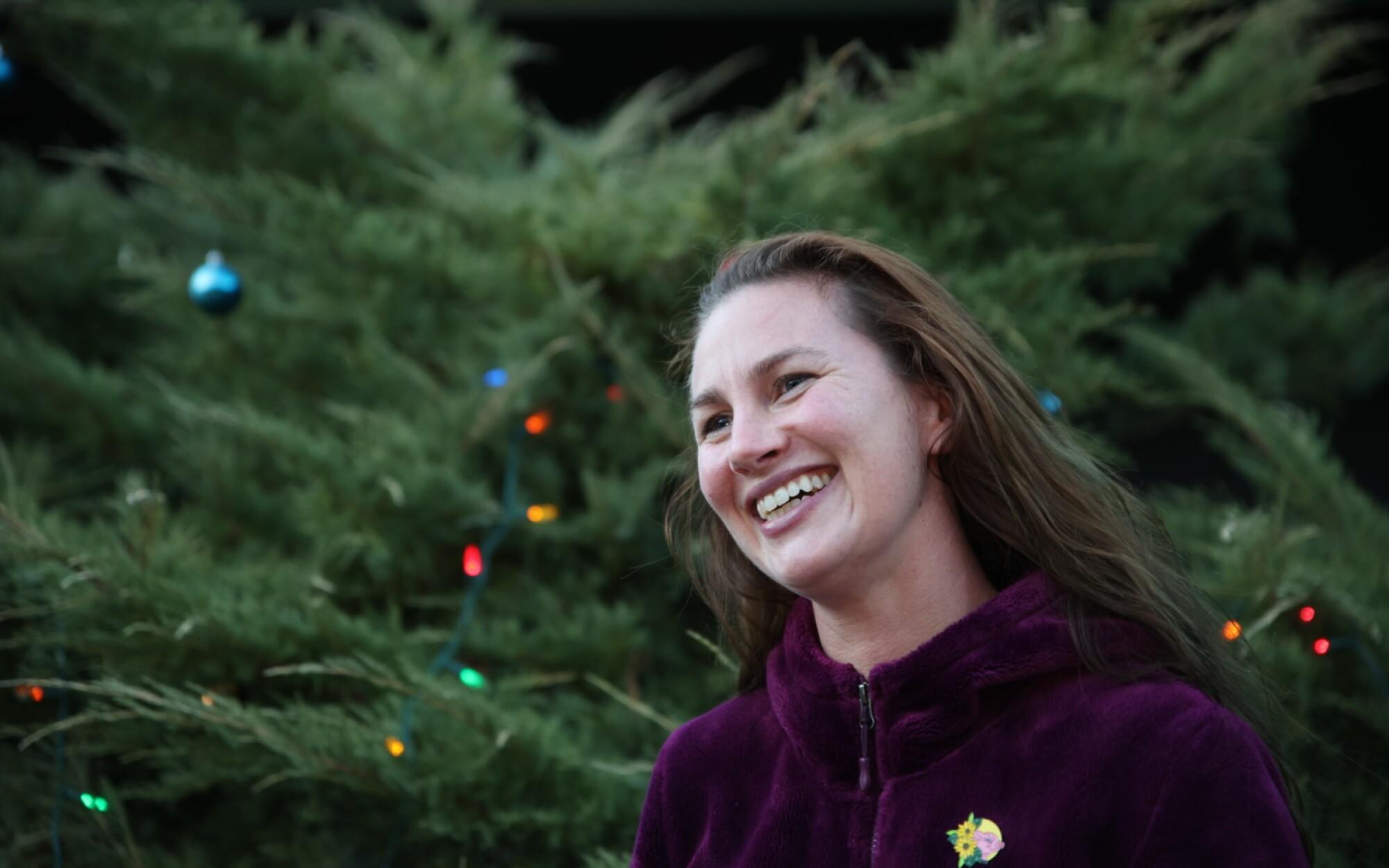 Boulder Creek native Hallie Greene has found comfort in helping others.