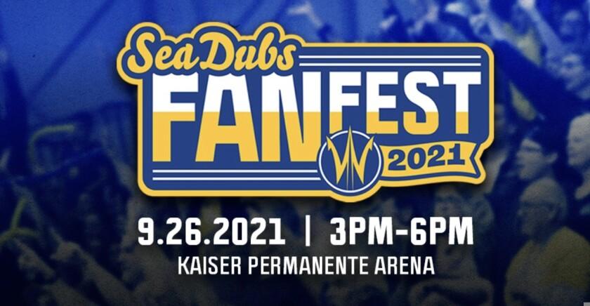 Flyer for Sea Dubs Fan Fest 2021