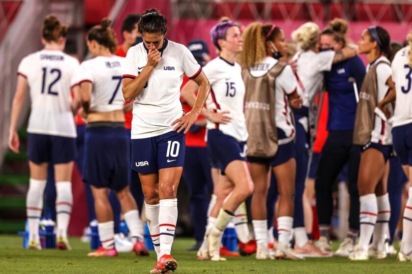 Tokyo, Japan, Monday, August 2, 2021 - Team United States forward Carli Lloyd.