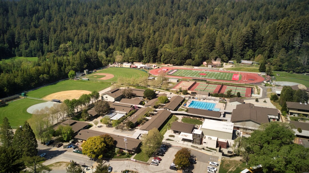 San Lorenzo Valley high and middle school form the nucleus of a small tight-knit community.