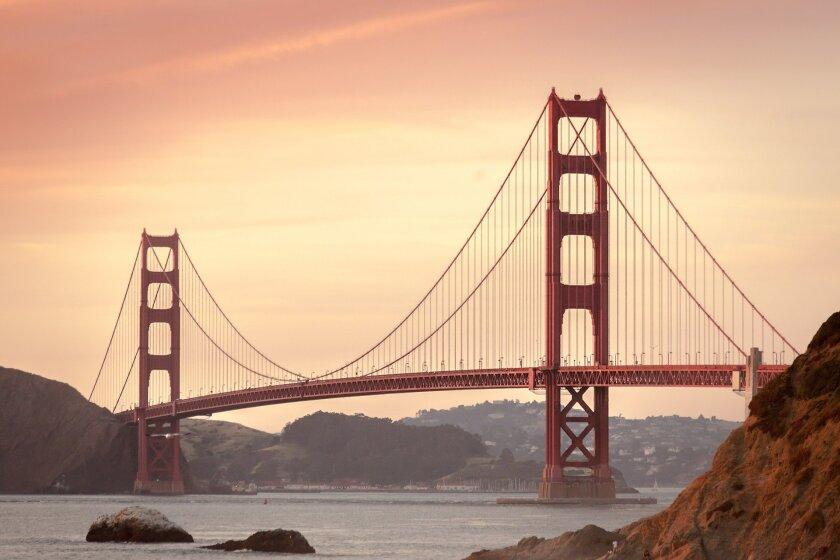 File image of Golden Gate Bridge