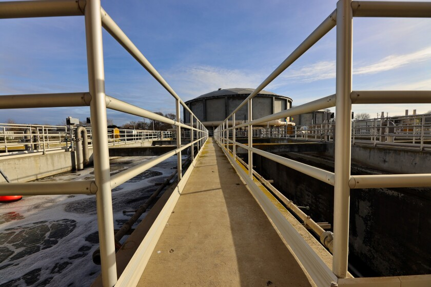 The Watsonville Wastewater Treatment Plant serves about 55,000 residents in the city and surrounding areas.
